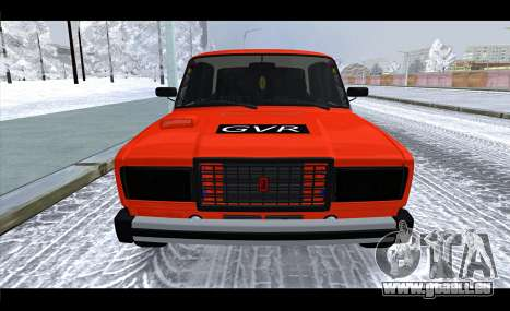 VAZ 2105 patch v3 pour GTA San Andreas vue de droite