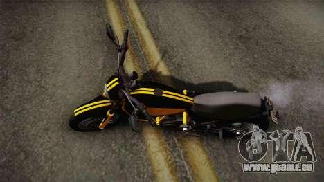 GTA 5 Pegassi Esskey PJ4 für GTA San Andreas zurück linke Ansicht