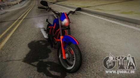 GTA 5 Pegassi Esskey PJ5 pour GTA San Andreas sur la vue arrière gauche