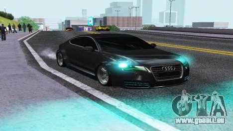 AUDI A7 SPORTSBACK pour GTA San Andreas