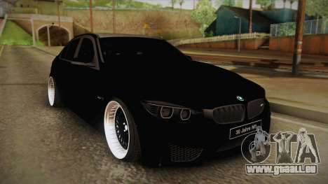 BMW M3 F30 für GTA San Andreas