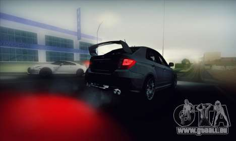 Subaru Impreza WRX STI 2011 für GTA San Andreas Innenansicht
