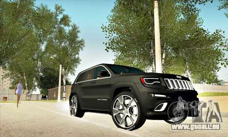 Jeep Cherokee SRT 8 für GTA San Andreas