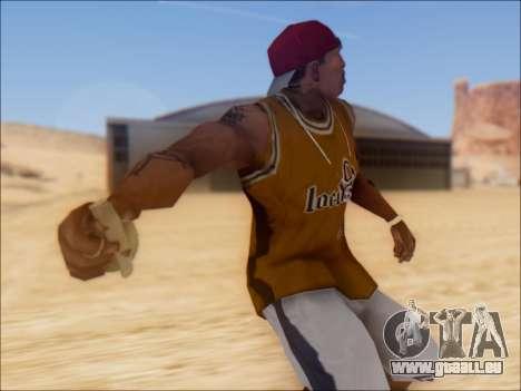GTA 5 Grenade pour GTA San Andreas deuxième écran