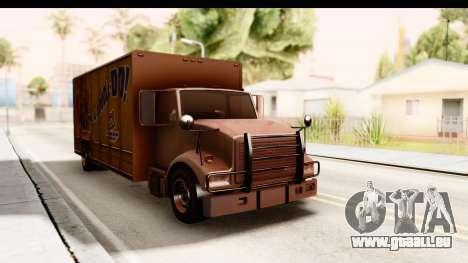 GTA 4 Vapid Benson pour GTA San Andreas vue de droite