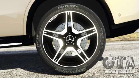 GTA 5 Mercedes-Benz GLE 450 AMG 4MATIC (C292) [add-on] hinten rechts