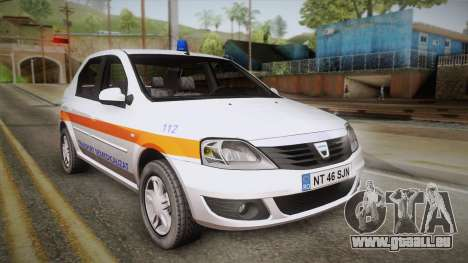 Dacia Logan Facelift Ambulanta v3 für GTA San Andreas