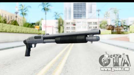 Tactical Mossberg 590A1 Chrome v3 für GTA San Andreas zweiten Screenshot