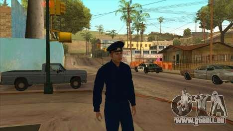 Die Staatsanwaltschaft in Jacke PN für GTA San Andreas
