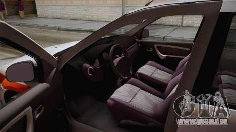 Dacia Logan Facelift Ambulanta v3 für GTA San Andreas rechten Ansicht
