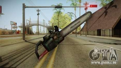 Silent Hill 2 - Chainsaw für GTA San Andreas dritten Screenshot