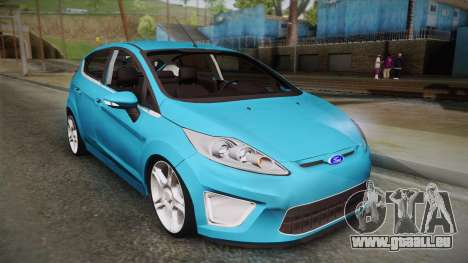 Ford Fiesta Kinetic Design pour GTA San Andreas
