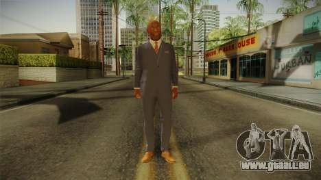 Quantum Break - Martin Hatch (Lance Reddick) für GTA San Andreas zweiten Screenshot