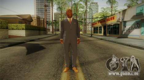 Quantum Break - Martin Hatch (Lance Reddick) für GTA San Andreas zweiten Screenshot
