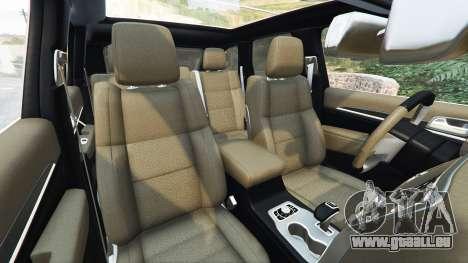 GTA 5 Jeep Grand Cherokee SRT-8 2014 [replace] avant droite vue de côté