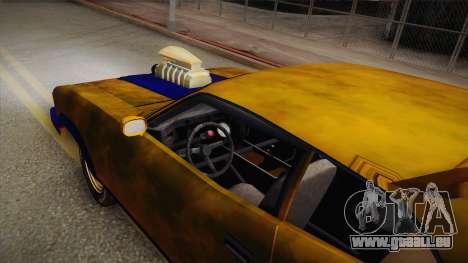 Ford Falcon 1973 Mad Max: Fury Road pour GTA San Andreas vue de droite