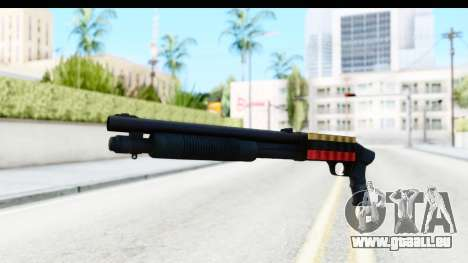 Tactical Mossberg 590A1 Black v3 pour GTA San Andreas