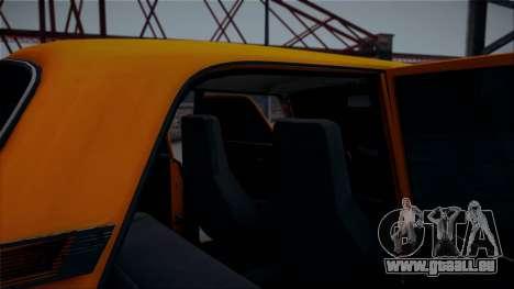 VAZ 2105 Pigler 1.0 pour GTA San Andreas vue de droite