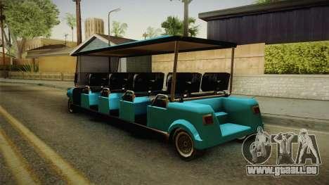 Caddy Limo für GTA San Andreas linke Ansicht