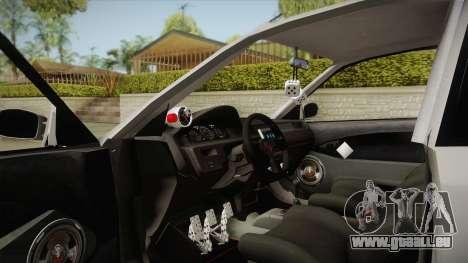 Honda Civic Coupe DX 1995 pour GTA San Andreas vue de droite