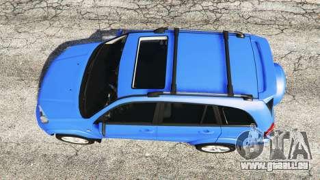 GTA 5 Toyota RAV4 (XA20) [replace] Rückansicht