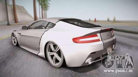 NFS: Carbon TFKs Aston Martin Vantage für GTA San Andreas linke Ansicht