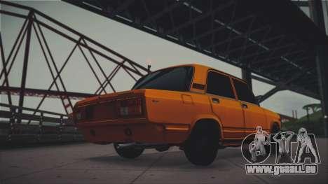 VAZ 2105 Pigler 1.0 pour GTA San Andreas laissé vue