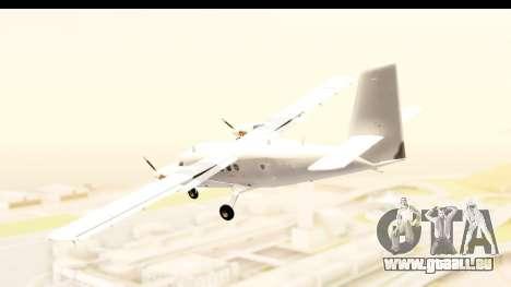 DHC-6-400 All White für GTA San Andreas linke Ansicht