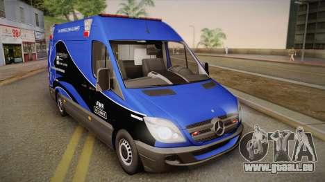 Mercedes-Benz Sprinter 2012 Midwest Ambulance für GTA San Andreas