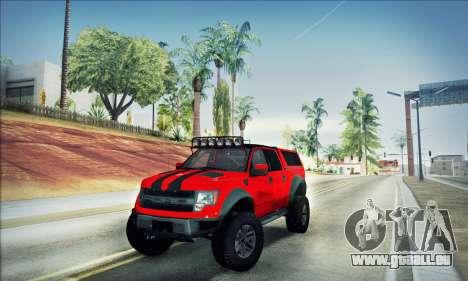 Ford F150 Raptor Long V12 pour GTA San Andreas