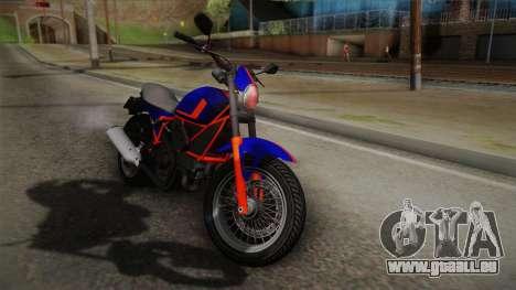 GTA 5 Pegassi Esskey PJ5 pour GTA San Andreas