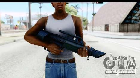 Pancor Jackhammer pour GTA San Andreas troisième écran