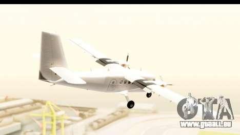 DHC-6-400 All White für GTA San Andreas rechten Ansicht
