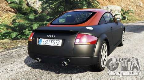 GTA 5 Audi TT (8N) 2004 [add-on] hinten links Seitenansicht