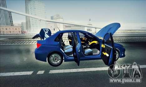 Subaru Impreza WRX STI 2011 für GTA San Andreas rechten Ansicht