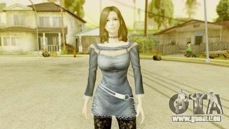 Fatal Frame 5 - Hisoka pour GTA San Andreas deuxième écran