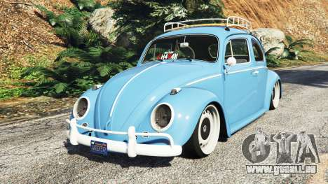 Volkswagen Fusca 1968 v0.9 [replace] pour GTA 5