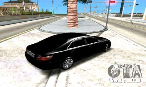 Toyota Camry für GTA San Andreas Seitenansicht