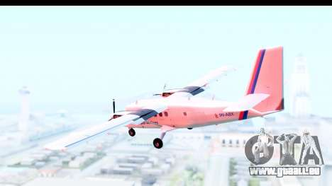 DHC-6-400 Nepal Airlines für GTA San Andreas linke Ansicht