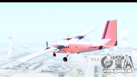 DHC-6-400 Nepal Airlines für GTA San Andreas linke Ansicht