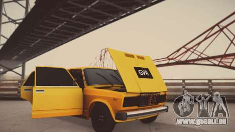 VAZ 2105 Pigler 1.0 pour GTA San Andreas vue de côté