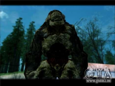 DOOM 3 - Hunter Invulnerability pour GTA San Andreas deuxième écran