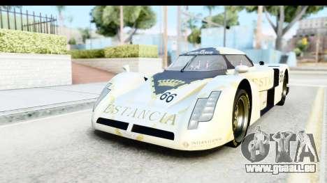 GTA 5 Annis RE-7B IVF für GTA San Andreas Rückansicht