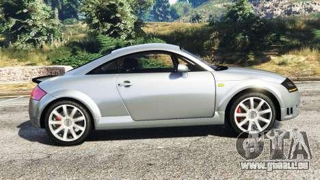 GTA 5 Audi TT (8N) 2004 [replace] vue latérale gauche