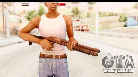 Tactical Mossberg 590A1 Black v2 für GTA San Andreas dritten Screenshot