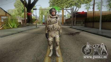 Multicam US Army 5 v2 für GTA San Andreas zweiten Screenshot