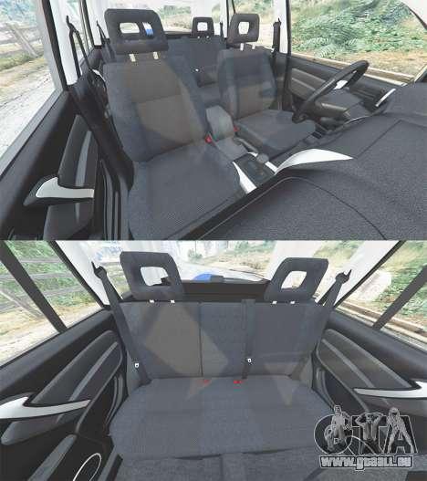 GTA 5 Toyota RAV4 (XA20) [replace] Lenkrad