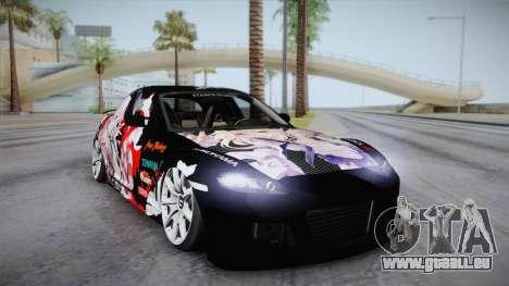 Mazda RX-8 VIP Stance Shimakaze Itasha pour GTA San Andreas