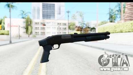 Tactical Mossberg 590A1 Black v3 pour GTA San Andreas deuxième écran