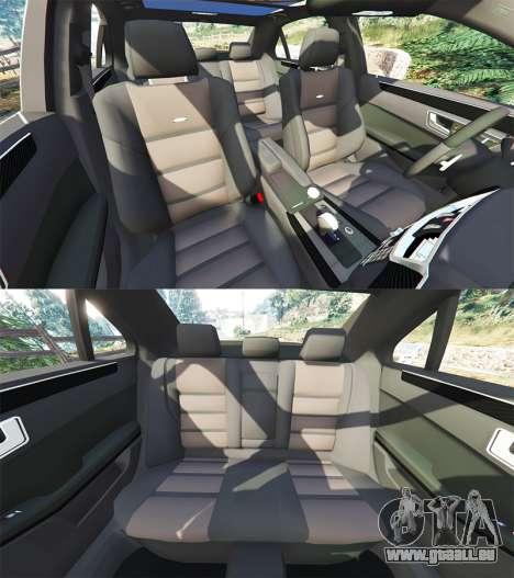 GTA 5 Mercedes-Benz E63 (W212) AMG 2010 [add-on] vorne rechts Seitenansicht